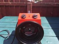 Master Pro Fan heater.