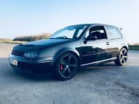 GOLF 1.8 TURBO, good condition, electric windows , dump valve,tinted windows, wired for sound system
