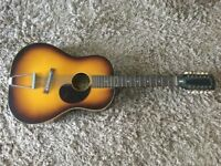Vintage EGMOND 12 string acoustic guitar