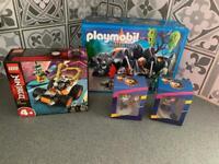 Lego, playmobil & Barney Bear bundle