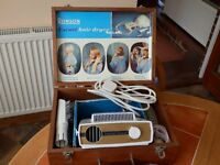 Retro 1950s electric hair dryer