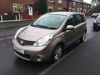 Nissan note 1.4 petrol 5doors 2011 new shape
