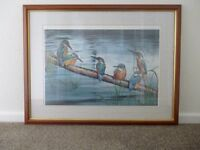 KINGFISHERS BY DOROTHEA BUXTON-HYDE