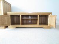Oakfurniture Land Light Oak TV Table - MINT!