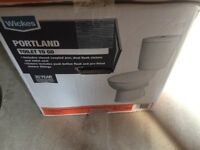 White Toilet & Wash Basin