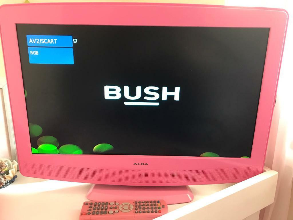 pink alba 24 tv dvd combi in northwich cheshire gumtree. Black Bedroom Furniture Sets. Home Design Ideas