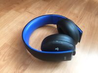 Black pair of Wireless PS3/PS4 Head Phones