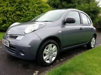 ★ CHEAP TO RUN! 61.4mpg★ DIESEL, £30 TAX★ SEPT 2010 NISSAN MICRA VISIA 1.5, 5dr★V. LONG MOT★FULL S H