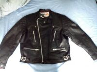 Wolf leather Motorcycles jacket