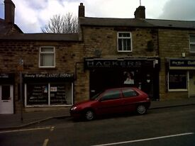 Unfurnished, 2 bedroom flat above hairdressers, Blackhill, Consett. Available now, NO Bond
