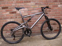 DIAMONDBACK SORRENTO Aluminium frame full suspension mountain bike