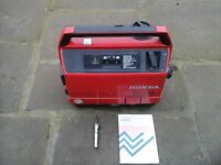 Honda Generator EX650 in Excellent working order and condition, Silent Running,