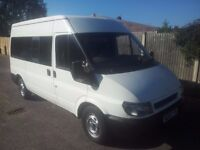 ford transit minibus / 55plate / 12months mot
