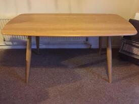 Ercol shalstone dining fixed top table