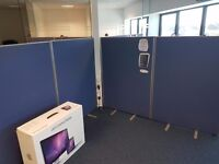 16 x Freestanding office dividers/partitions 20gbp each.