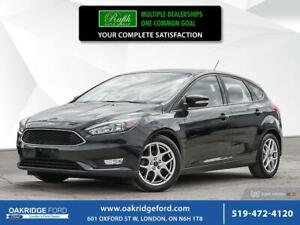 2015 Ford Focus 5DR HB SE- Bluetooth- A/C-Cruise Control- Power