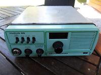 COMMERCIAL GRADE VHF RADIO - HUSON 65 - WITH TELEPHONE HANDSET.