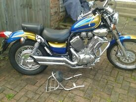 petrol tank front and rear mudguards and both side panles