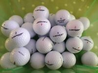 Twenty (25) DUNLOP Lightly Used White Golf Balls all VGC - cash on collection from Gosport Hampshire