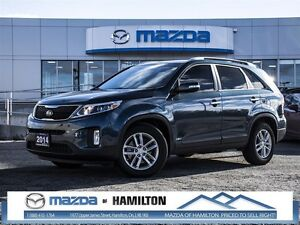 2014 Kia Sorento 3.3L LX V6 FWD at