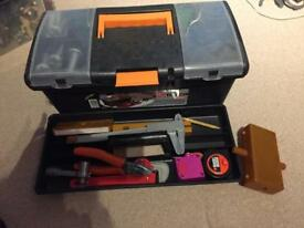 Work men's tools and box