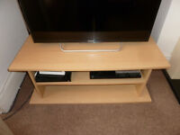 Wooden TV stand, £5
