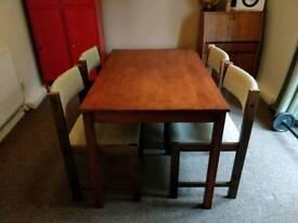 Farstrup mid century danish dining chairs set of four 4