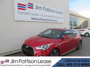 2016 Hyundai Veloster 1.6L Turbo 7 Speed Auto. Hatchback w/NAV!