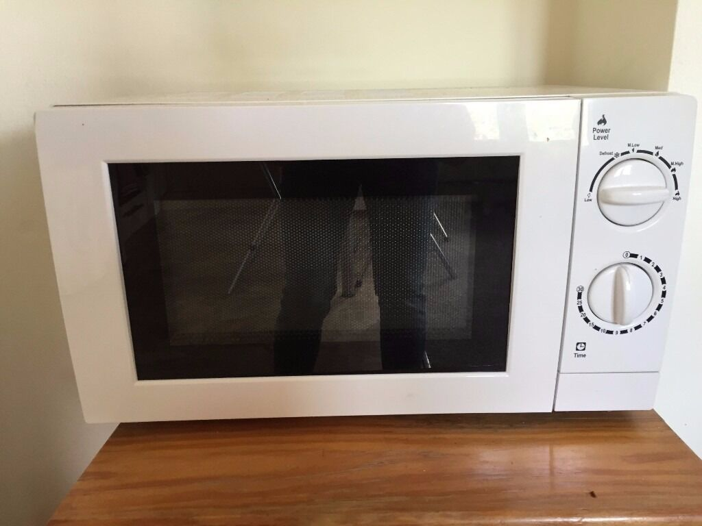 17l 700w White Microwave From Asda