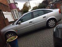Vauxhall Vectra ,Reg.DA53EVH, Mileage 57600, MOT 15.10.17, owned from new