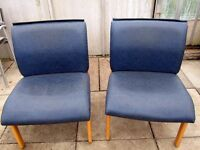 24 office/waiting room chairs - good condition