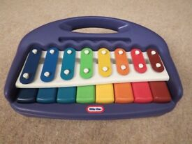 Musical instrument, Little Tikes piano