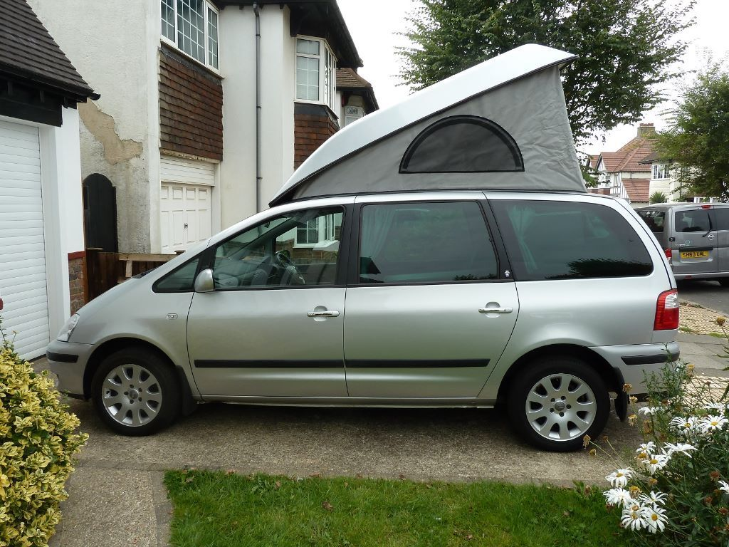 Ford Galaxy Camper Conversion >> Ford Galaxy Ghia Campervan 2005 6000 Ono Price Dropped In