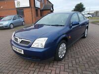 VAUXHALL VECTRA 1.8 LS (04) in REGAL BLUE, VERY LOW MILES