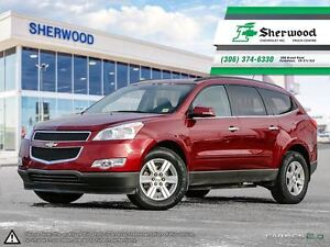 2010 Chevrolet Traverse 1LT AWD One Owner Local PST PAID Trade!!
