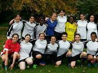 Female. Womens. Ladies. PLAYERS WANTED FOR WEEKEND FOOTBALL SOCCER CLUB TEAM
