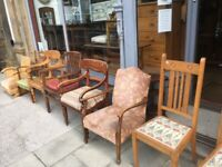 Mixed Chairs £120 each , feel free to view All solid and in good condition