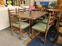 Toledo younger extebding table and 8 chair set