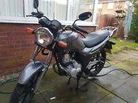 Sym XS 125. 66 plate. Bought brand new.