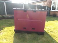 DUCAPLAST Uni-pak Foldable Pallet Box Poly Crate transit box Logistics Box