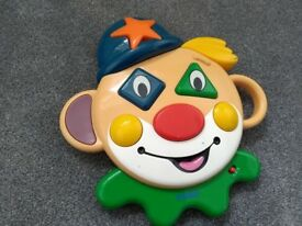 Tomy- Bingo the clown interactive talking toy