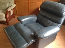 Leather Recliner - aged vintage, like a lazyboy! Offers Considered