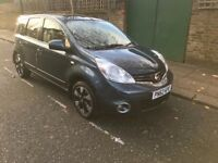 Nissan note 1.6 automatic 2012