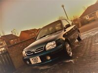Lovely little runabout and very well cared for Nissan Micra 1.3i 'Auto' 3 door Hatchback in Blue