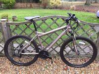 Muddy Fox MASSACRE Mountain Bike, 24 Shimano Speed, Alloy Frame, Tektro Hydro Disc Brakes