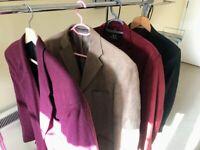 Gents jackets (4 - see pics)