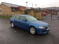 2010 FACELIFT AUDI A4 2.0 TDI SE EASTATE HPI CLEAR FSH 2 OWNERS MINT CONDTION PX WELCOME BARGAIN £££