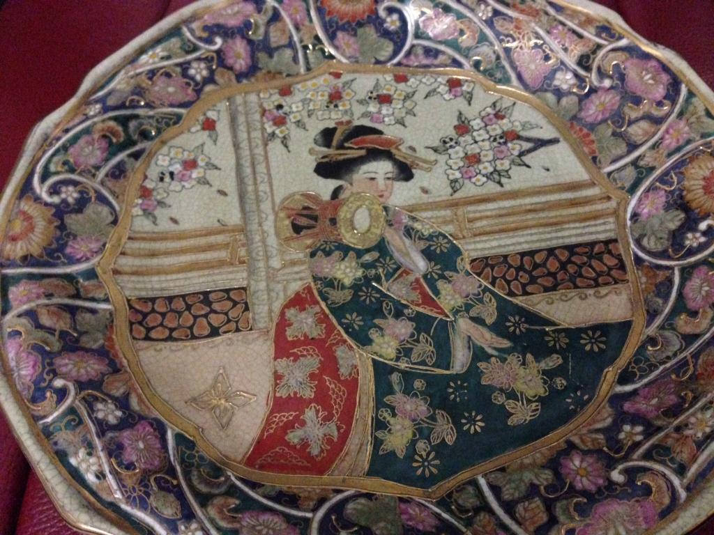 Guilted Japanese plate