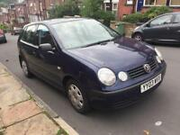 2003 Volkswagen Polo 1.2 (selling for parts / repair/ broken / failed MOT / breaking )