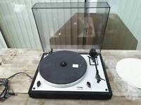 Thorens Td 166 mk2 turntable record player a&r p77 moving magnet cart original box & packaging